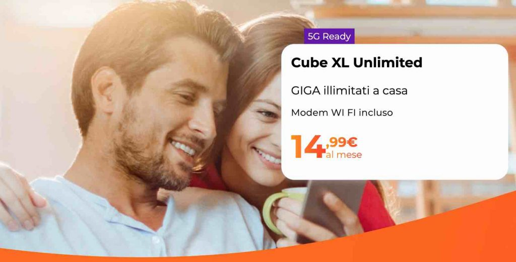 Cube XL unlimited – WINDTRE