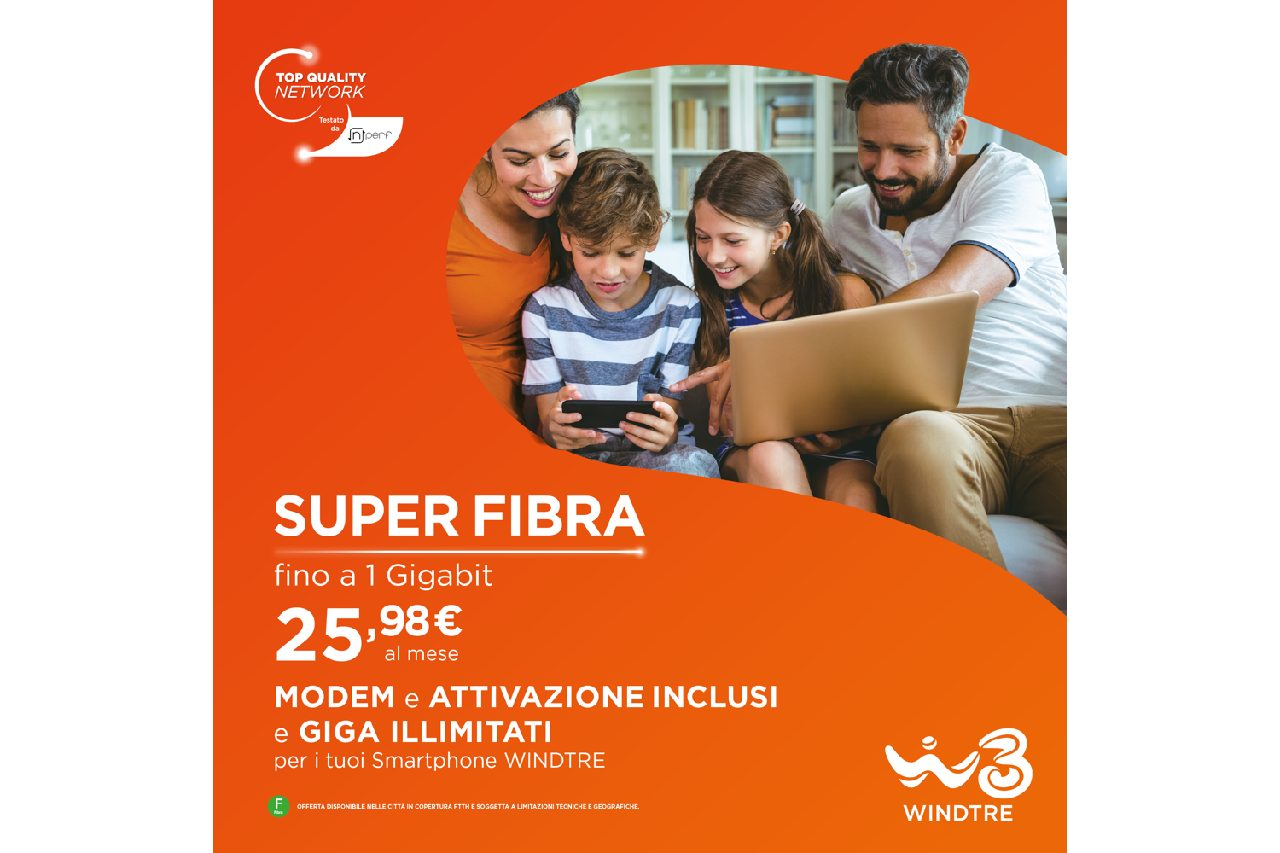 Superfibra Casa – WINDTRE